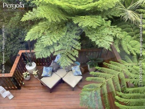 Hardwood Deck in Sydney's Hornsby Heights